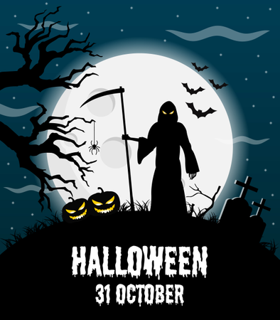 Halloween Poster Art.Download Premium Halloween Posters Illustration Pack From Background Patterns Illustrations