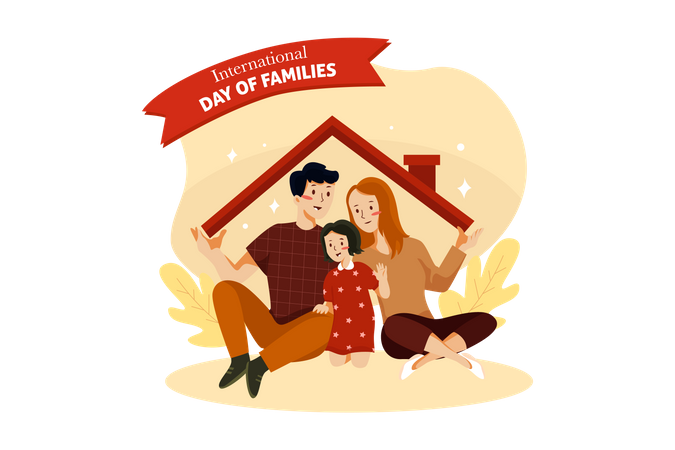 Happy Home Illustration