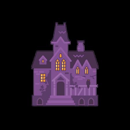 Haunted Mansion Illustration