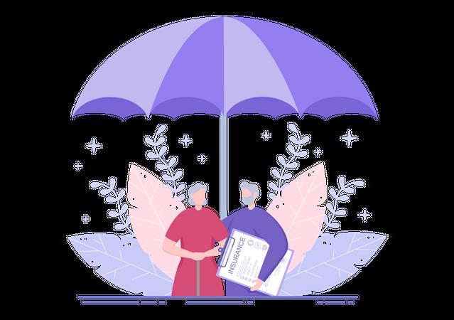 Health Insurance Illustration