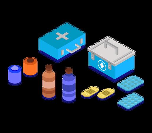 Health kit Illustration