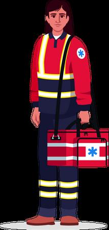 Health professional Illustration