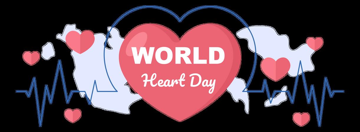 Heart Checkup Illustration