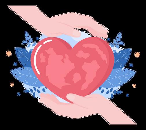 Heart Cure Illustration