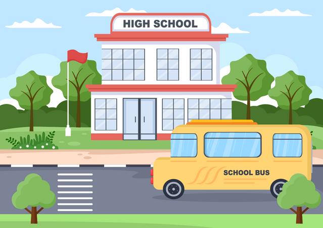 High school Illustration