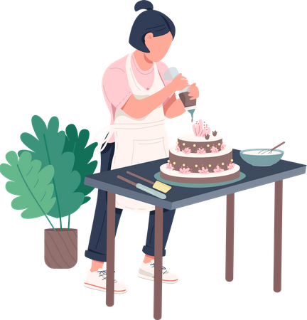 Housewife Illustration