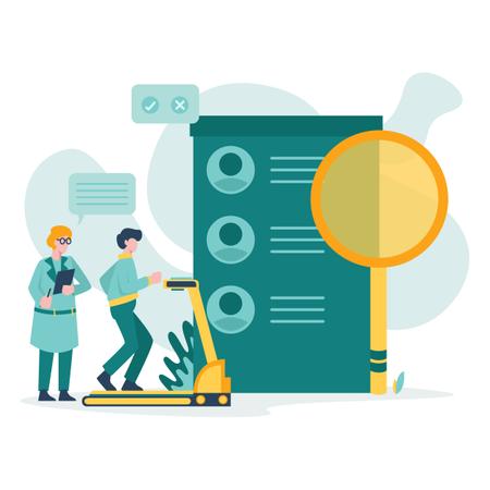 Human resource Illustration