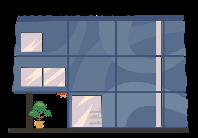 Hypermarket Illustration