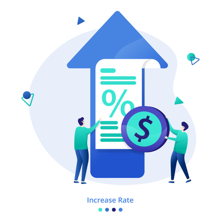 Illustration Increase Rate Illustration