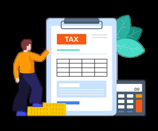 Income Tax Illustration