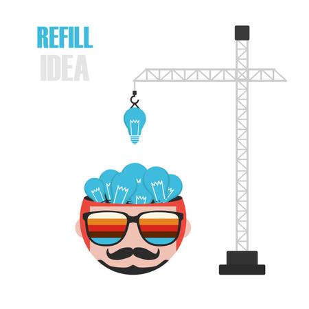 Increase Idea Concept Illustration