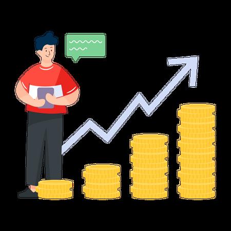 Increase in Profits Illustration