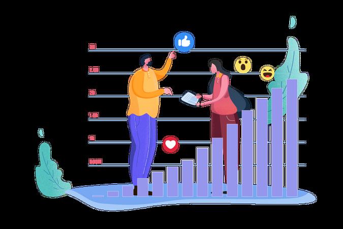 Increase Sales Illustration