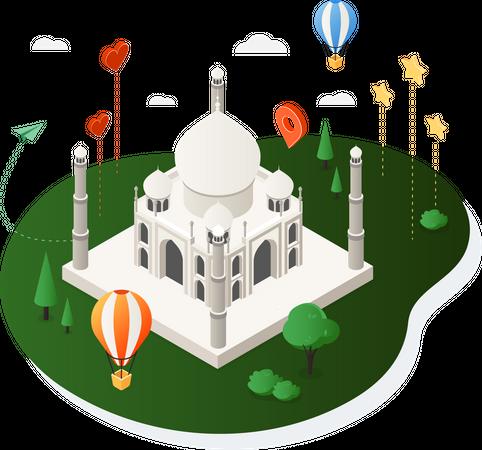 India Illustration