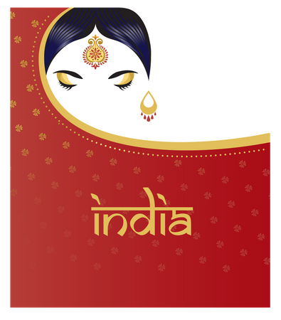 Indian culture Illustration