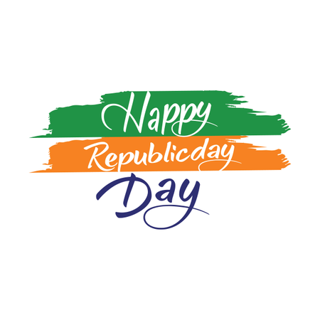 Indian Republic Day Concept Illustration