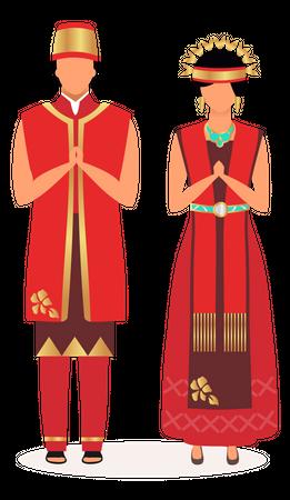 Indonesians Illustration
