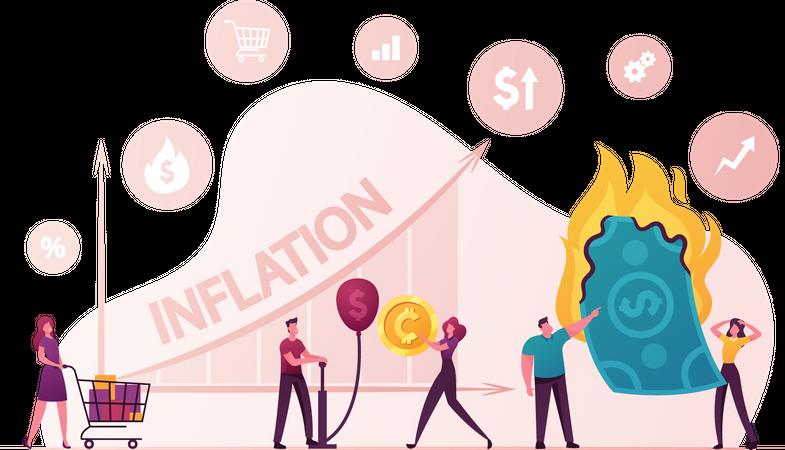 Inflation Illustration