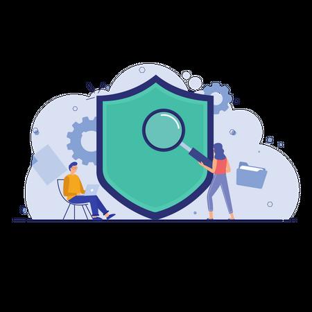 Information Protection Illustration