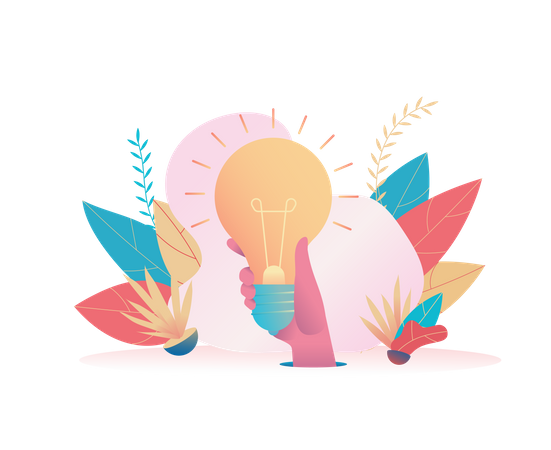 Innovative business idea Illustration