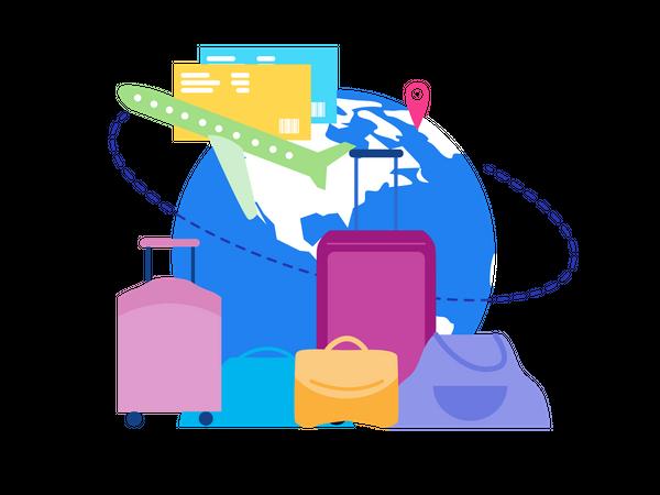 International Traveling Illustration