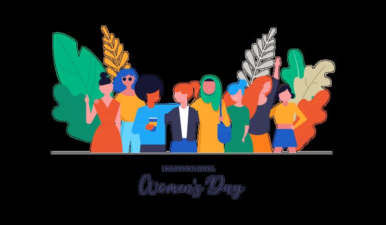 International Women's Day Illustration