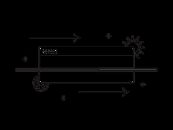 Internet Web Page Illustration