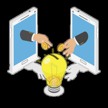 Investing Into Innovation Illustration