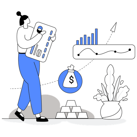 Investment in bank FD Illustration
