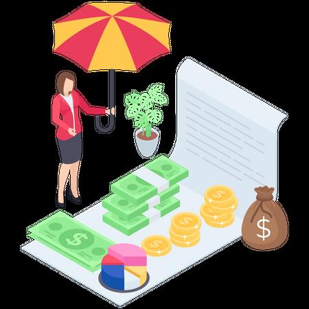 Investment Marketing Illustration