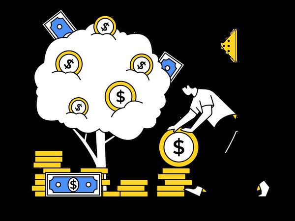 Investment return to Investor Illustration