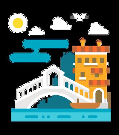 Italy Illustration