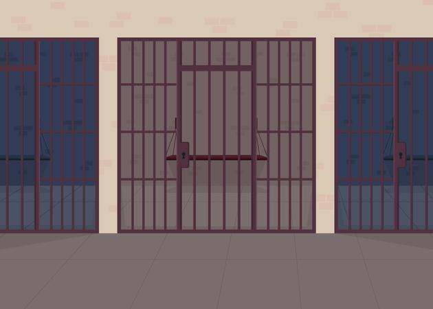 Jail Illustration