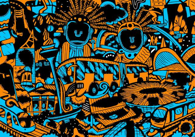 Jakarta Illustration