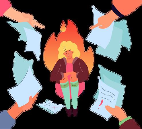Job failure Illustration