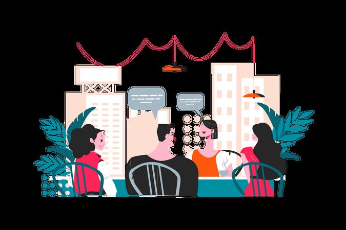 Job Interview Process Illustration