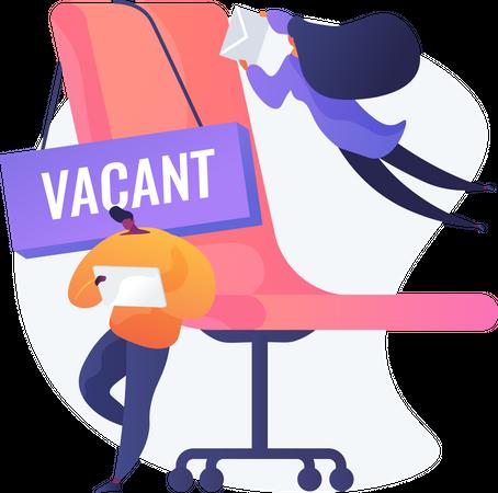 Job Vacancy Illustration