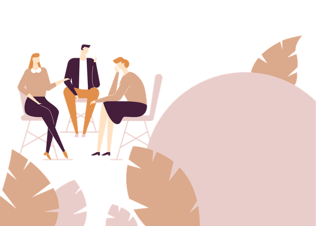 Join group discussion Illustration