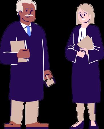 Judges Illustration