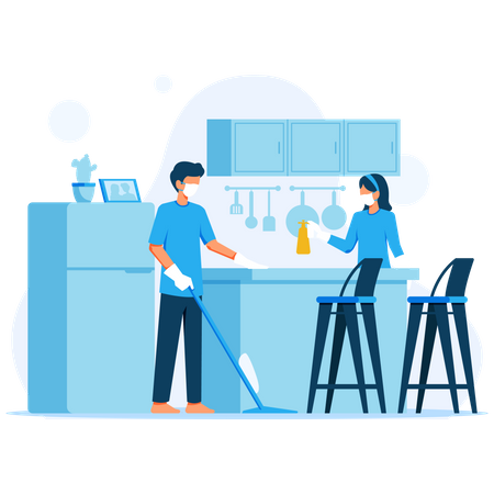 Keep the House Hygienic Illustration
