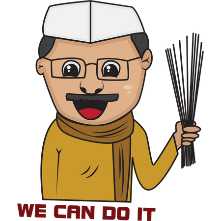 Kejriwal Illustration