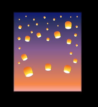 Lantern Festival Illustration