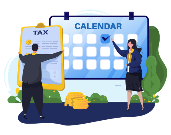 Last date to fill the tax Illustration