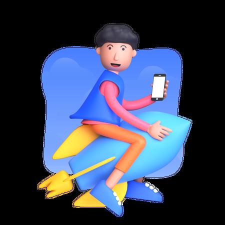 Launch product Illustration