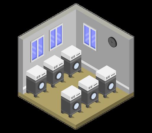 Laundry Illustration