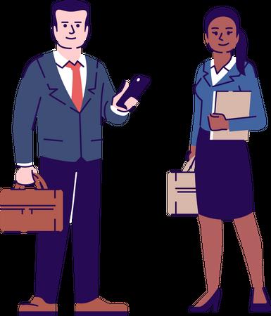 Lawyers Illustration