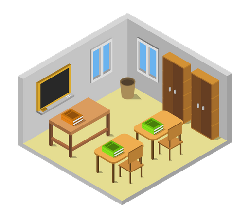 Lecture hall Illustration