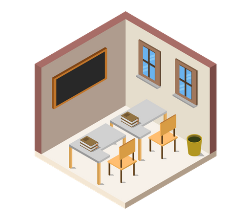 Lecture room Illustration