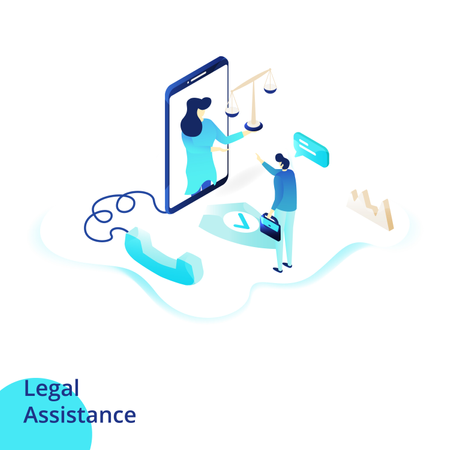 Legal Assistance Illustration