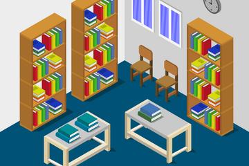 Library Illustration Pack